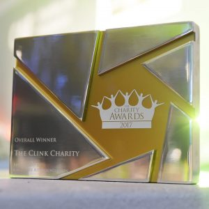 Charity Awards trophy