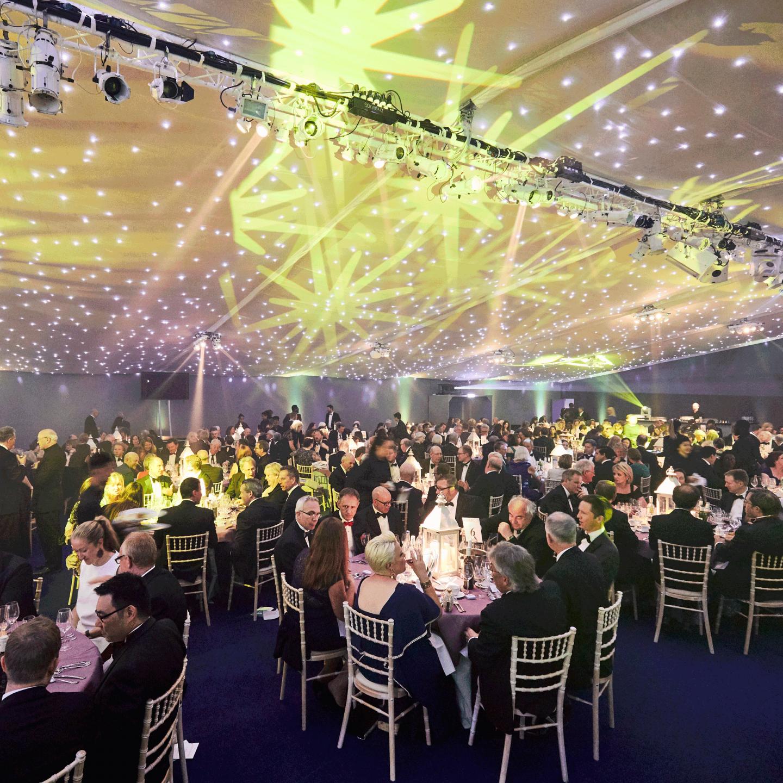 The awards night
