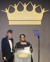 Winner of the international aid and development category: Tearfund