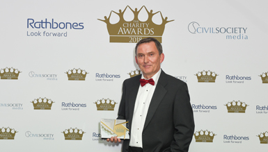 Kevin Curley honoured at Charity Awards 2018