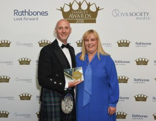 Winner of the healthcare and medical research category: Scottish Professional Football League Trust