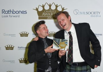 Overall award winners: Who Cares? Scotland