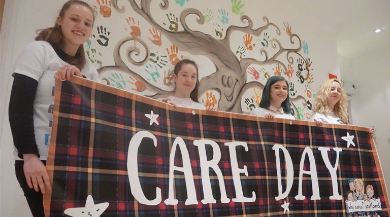 Who Cares? Scotland wins overall award at Charity Awards 2018